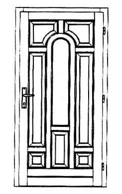Szigetelt bejárati ajtók-17