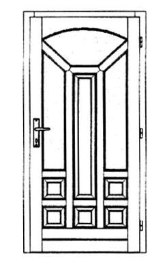 Szigetelt bejárati ajtók-27