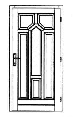 Szigetelt bejárati ajtók-30