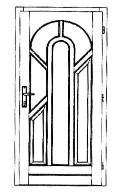 Szigetelt bejárati ajtók-8